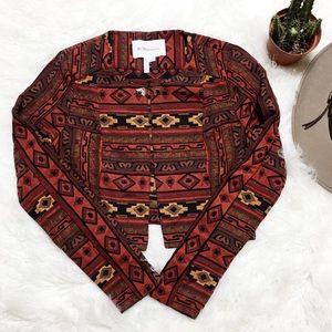 BCBGeneration Tribal Cropped Jacket